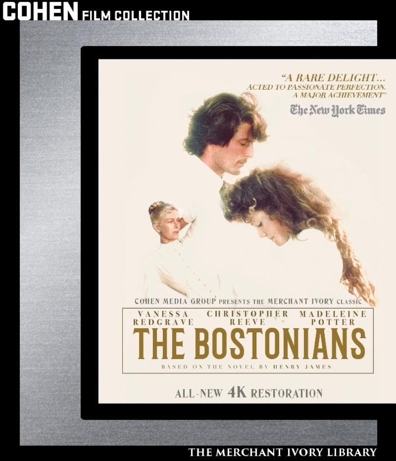Merchant Ivory Production 'The Bostonians' Hits Blu-Ray and DVD In May